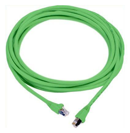 Патч-корд MOLEX PCD-00304-0J литой (molded), FTP, cat.6, 0.5м, 4 пары, 26AWG,  1 шт,  зеленый
