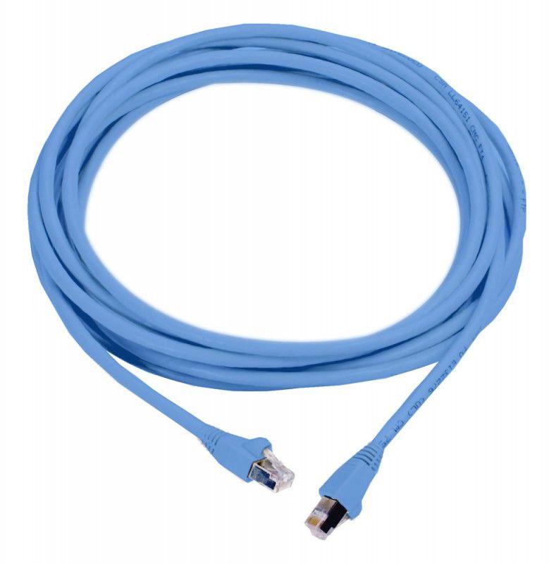 Патч-корд MOLEX PCD-00307-0H литой (molded), FTP, cat.6, 2м, 4 пары, 26AWG,  1 шт,  синий