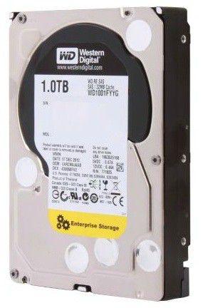 Жесткий диск WD Original SAS 1Tb WD1001FYYG RE (7200rpm) 32Mb 3.5