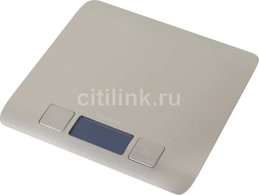 Весы кухонные ROLSEN KS-2916,  серебристый