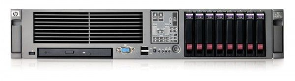 Сервер HP Rack Proliant DL385 G2 2210HE (1.8GHz) Dual Core, SFF HP SAS (E200/64, 1GB) (434940-421)