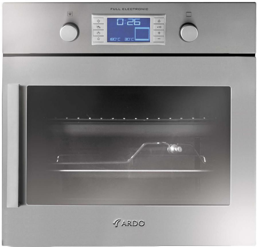 Духовой шкаф ARDO HLS108X,  серебристый