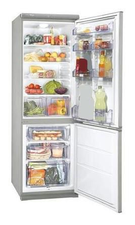 Холодильник ZANUSSI ZRB35100SA,  двухкамерный,  серебристый