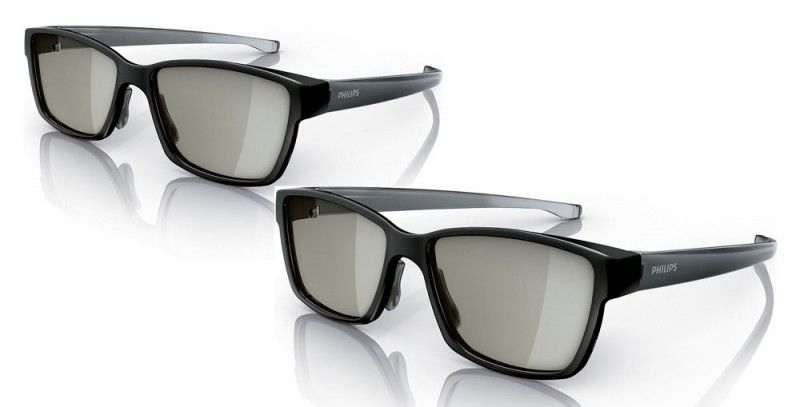 Очки 3D PHILIPS PTA417/00,  2 шт,  черный