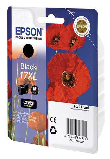 Картридж EPSON T1711 черный [c13t17114a10]