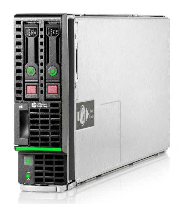 Сервер HPE ProLiant BL420c G8 1xE5-2430 3x4Gb x2 2.5 SAS/SATA B320i 3-3-3 (668357-B21)Серверы<br>Hot Swap HDD<br><br>Линейка: ProLiant