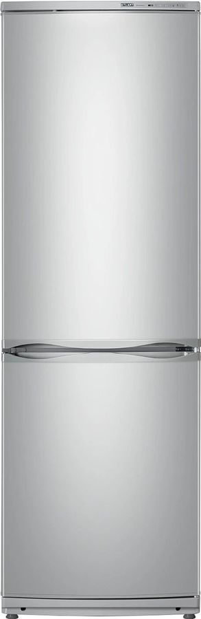 холодильник атлант серебристый двухкамерный