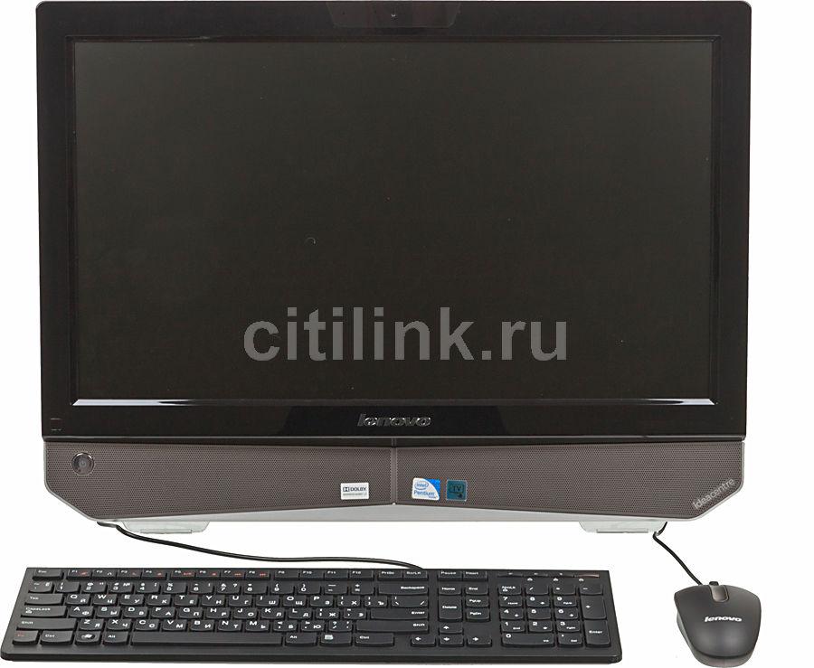 Моноблок LENOVO IdeaCentre B320G, Intel Pentium G640, 4Гб, 500Гб, Intel HD Graphics, DVD-RW, Free DOS, черный и серебристый [57310600]