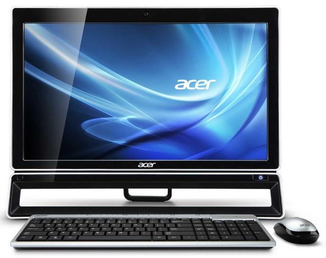 Моноблок ACER Aspire Z3280, AMD A10 5700, 6Гб, 1000Гб, AMD Radeon HD 7470 - 2048 Мб, DVD-RW, Windows 8, черный и серебристый [dq.smner.007]