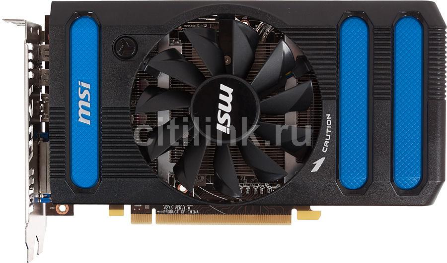 Видеокарта MSI Radeon HD 7850,  1Гб, GDDR5, OC,  Ret [r7850-1gd5/oc]