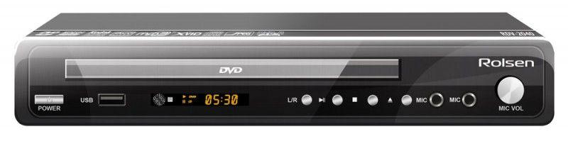 DVD-плеер ROLSEN RDV-2040,  черный [1-rldb-rdv-2040]
