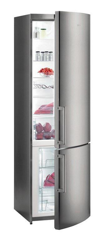Холодильник GORENJE NRK6200KX,  двухкамерный,  серый