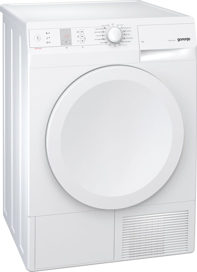 Сушильная машина GORENJE D844BH белый