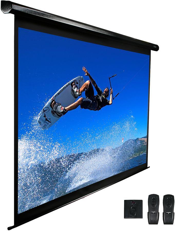 Экран ELITE SCREENS Spectrum Electric100H,  222х125 см, 16:9,  настенно-потолочный черный