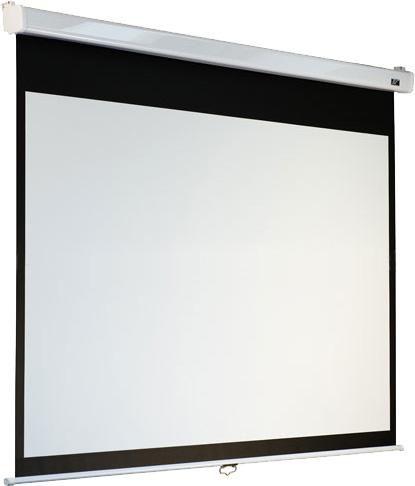 Экран ELITE SCREENS Manual SRM Pro M100VSR-Pro,  203х152 см, 4:3,  настенно-потолочный белый