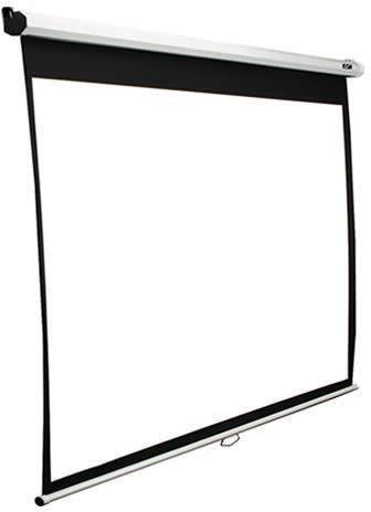 Экран ELITE SCREENS Manual M119XWS1,  213х213 см, 1:1,  настенно-потолочный белый