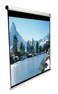 Экран ELITE SCREENS Manual M71XWS1,  127х127 см, 1:1,  настенно-потолочный белый