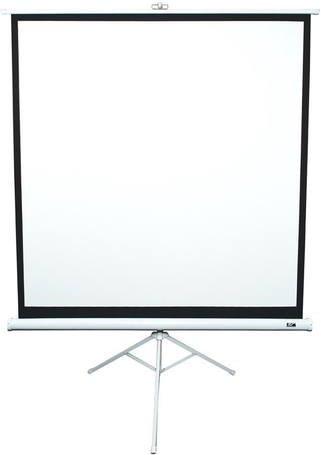 Экран ELITE SCREENS Tripod T113NWS1,  203х203 см, 1:1,  напольный белый