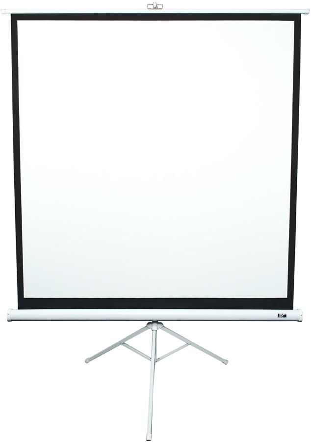 Экран ELITE SCREENS Tripod T119NWS1,  213х213 см, 1:1,  напольный белый