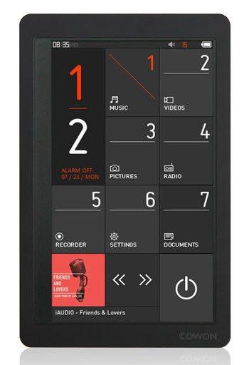 MP3 плеер COWON X9 flash 32Гб черный