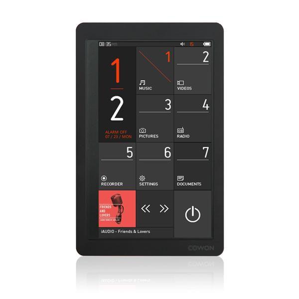 MP3 плеер COWON X9 flash 8Гб черный