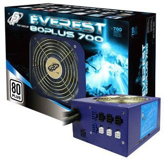 Блок питания FSP Everest ATX 700W Everest 80+,  700Вт,  120мм,  синий, retail