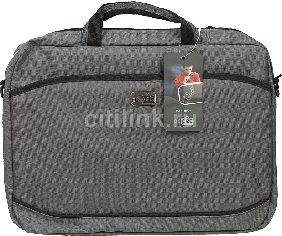 "Сумка для ноутбука 15.6"" PC PET 600D, серый [pcp-a1315gy]"