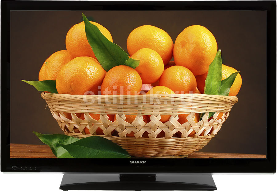 "LED телевизор SHARP LC40LE340RUX  ""R"", 40"", FULL HD (1080p),  черный"