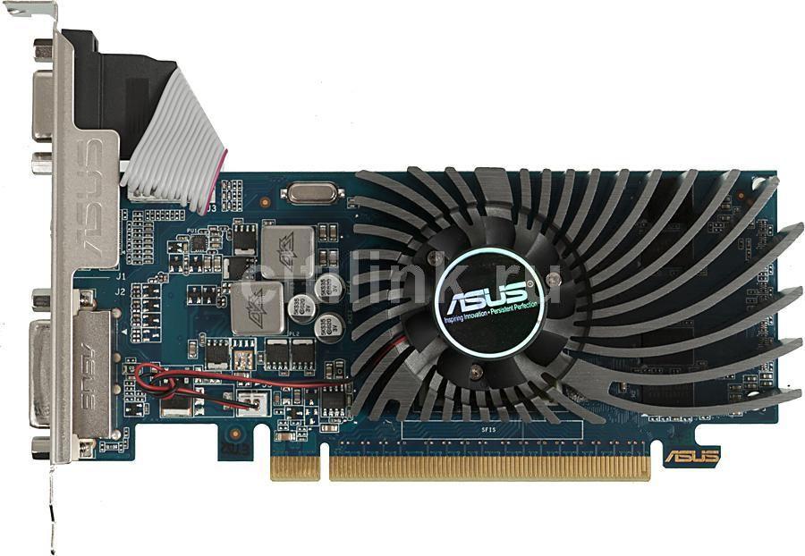 Видеокарта ASUS GeForce GT 620,  GT620-1GD3-L-V2,  1Гб, DDR3, Low Profile,  Ret