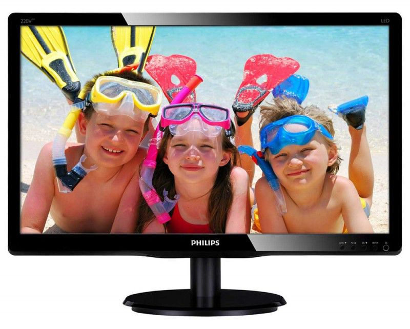 "Монитор ЖК PHILIPS 220V4LAB/01 22"", черный"