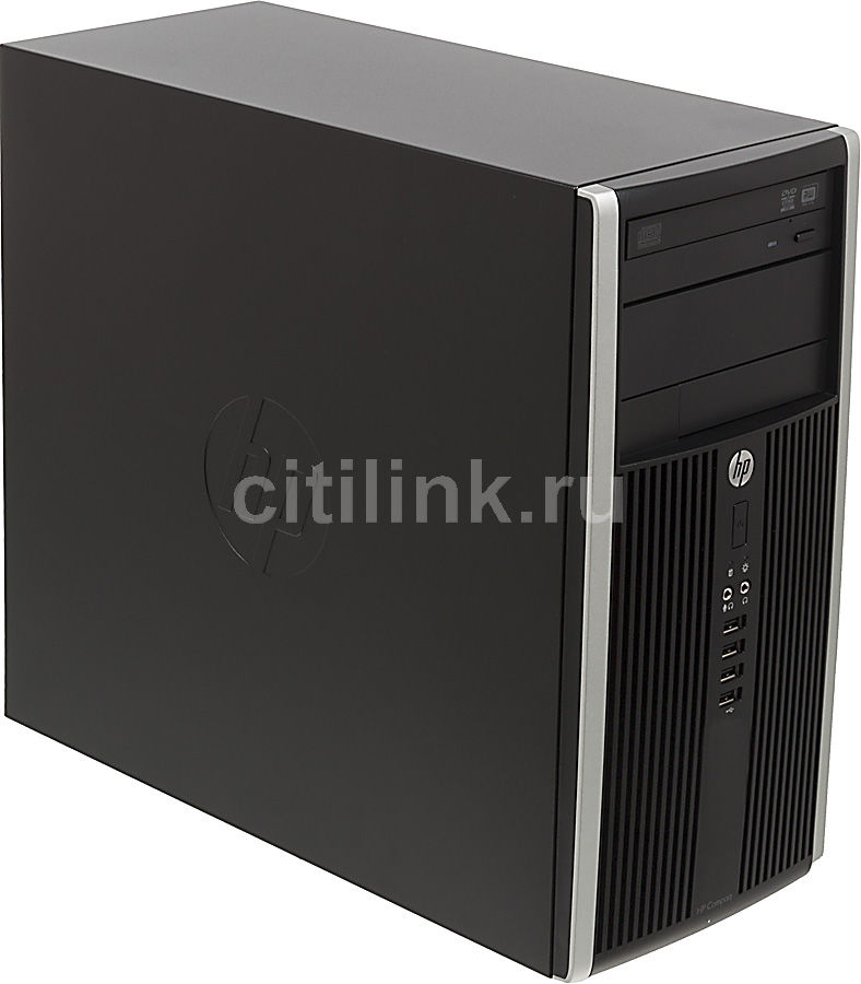 Компьютер  HP Pro 6300 MT,  Intel  Pentium Dual-Core  G640,  DDR3 4Гб, 500Гб,  Intel HD Graphics,  DVD-RW,  Windows 7 Professional,  черный [h4u25es]