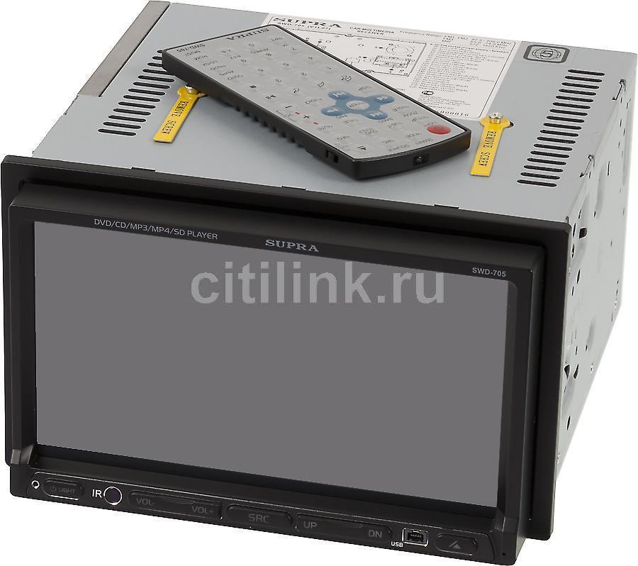 Автомагнитола SUPRA SWD-705,  USB,  SD/MMC