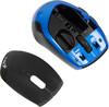 Мышь GENIUS DX-7100 оптическая беспроводная USB, черный и синий [31030060108] вид 8