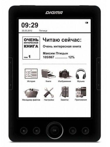 Электронная книга DIGMA R60,  6