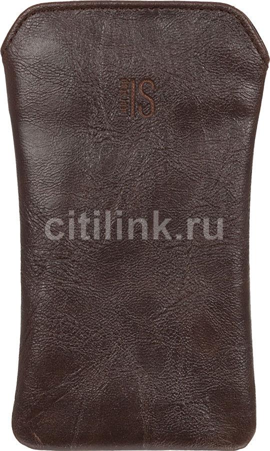 Чехол (футляр) INTERSTEP PEGAS р95, коричневый [speg95-000000-h2913o-k100]