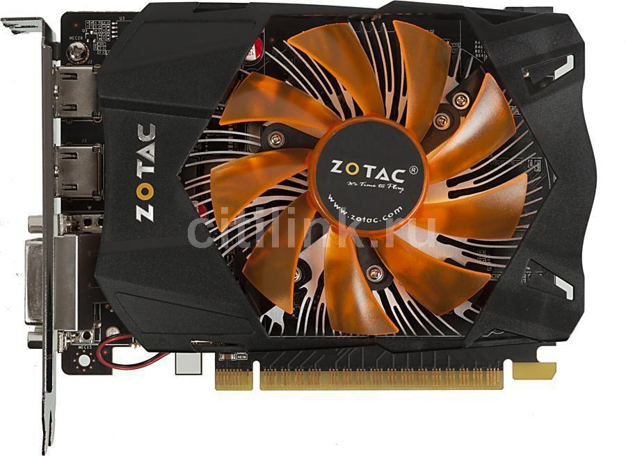 Видеокарта ZOTAC GeForce GTX 650,  2Гб, GDDR5, Ret [zt-61002-10m]