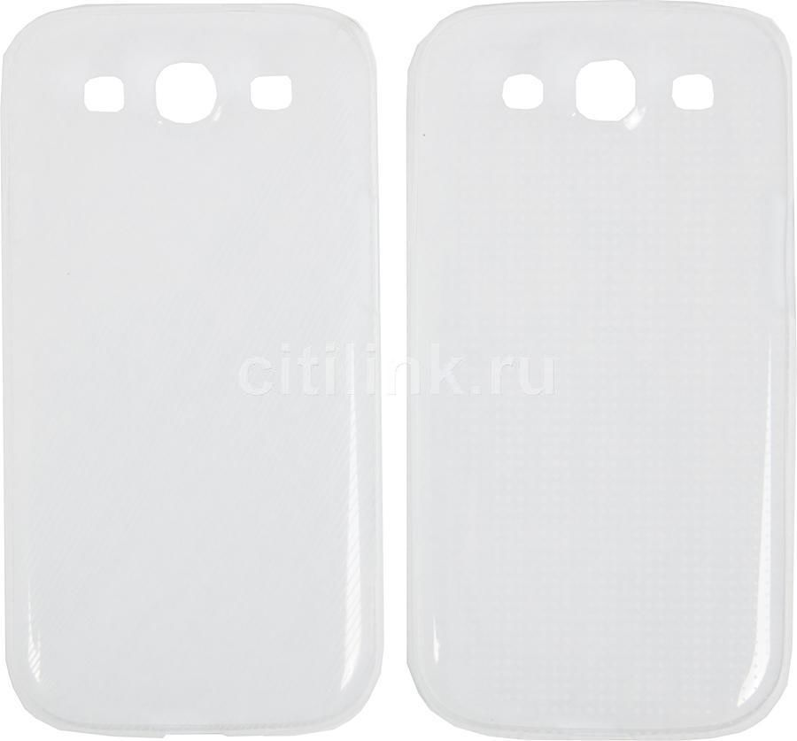 Чехол (клип-кейс) SAMSUNG EFC-1G6SWECSTD, для Samsung Galaxy S III, прозрачный