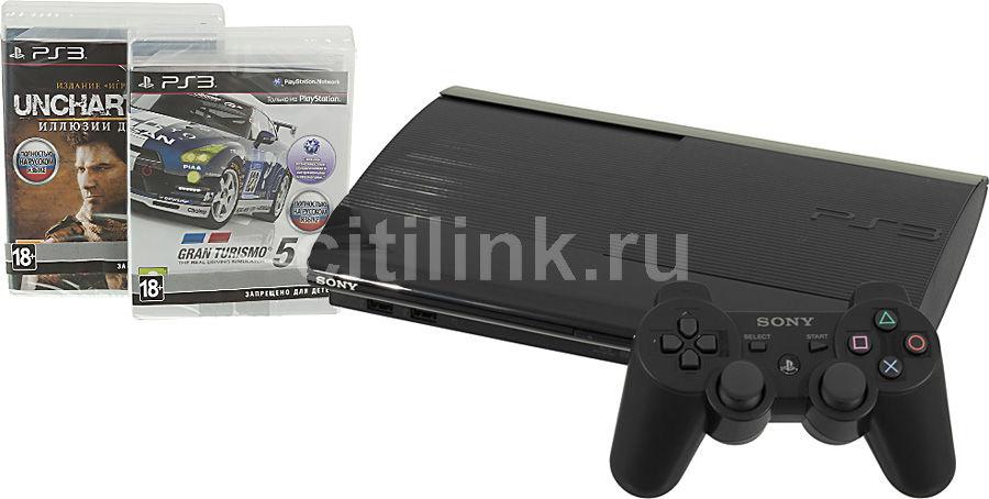 Игровая консоль SONY PlayStation 3 PS719285137, черный