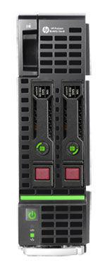 "Сервер HPE ProLiant BL460c Gen8 1xE5-2609 4x4Gb x2 2.5"" SAS/SATA P220i 3-3-3 (666162-B21)"