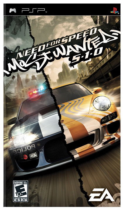 Игра SOFT CLUB Need for Speed: Most Wanted 5-1-0 (Essentials) для  PSP Eng