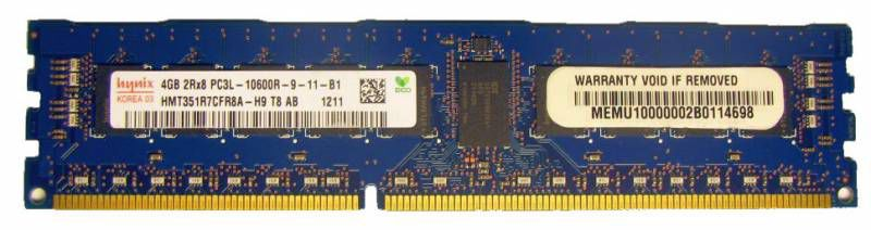 Память SuperMicro 4Gb DDR3 1333MHz ECC Reg (MEM-DR340L-HL08-ER13)