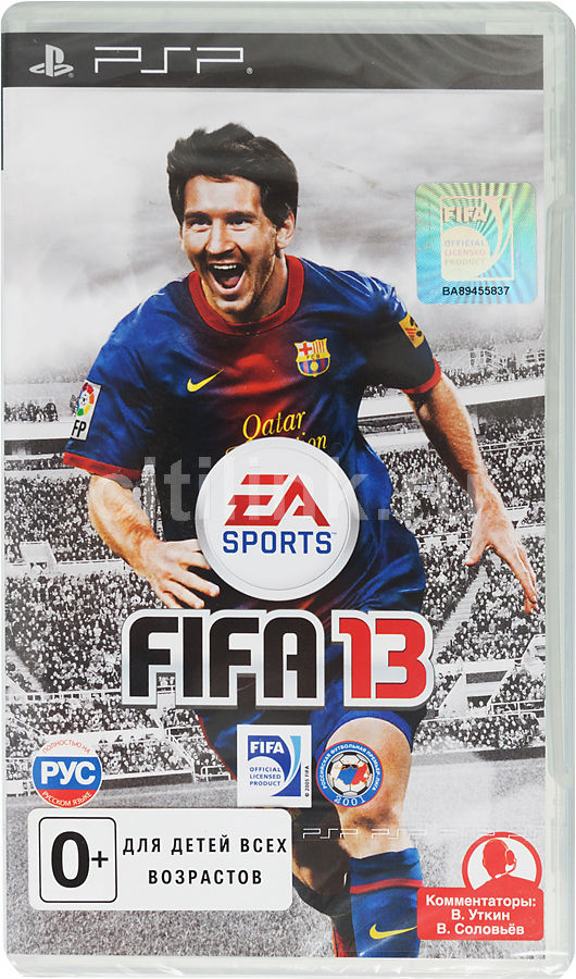 Игра SOFT CLUB FIFA 13 для  PSP Rus