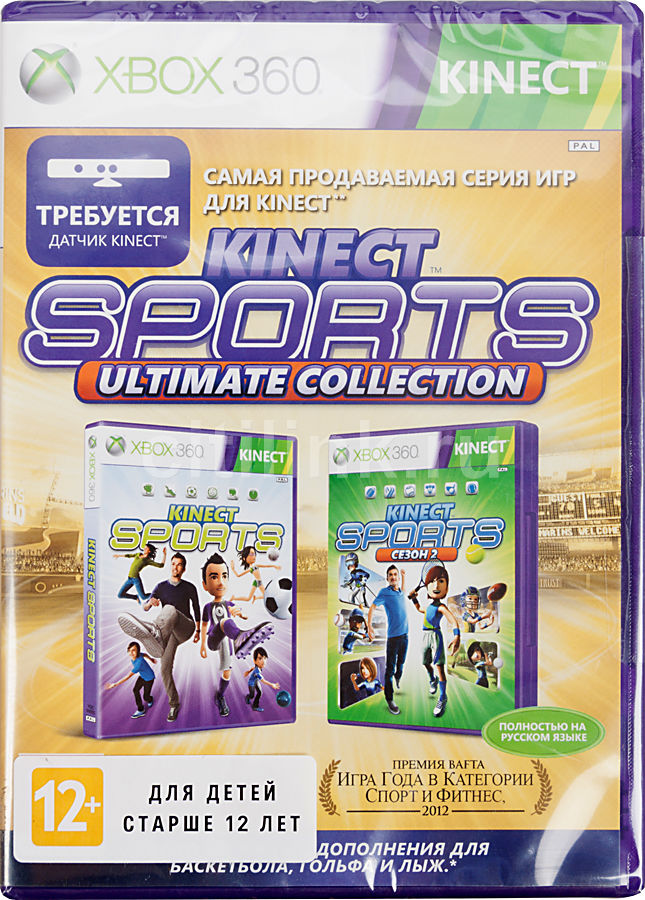 Игра MICROSOFT Kinect Sport Ultimate для  Xbox360 Rus