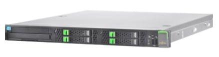 Сервер Fujitsu RX100S7p/LFF/ hot plug PSU/ Xeon E3-1220/ 2x 4GB/ 2x HD SATA 500GB (VFY:R1007SC050IN)
