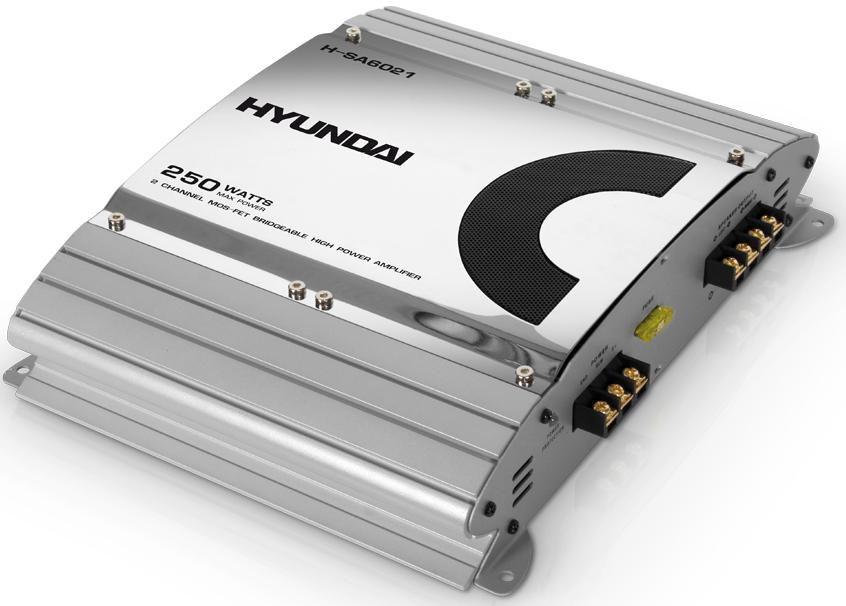 Усилитель автомобильный HYUNDAI H-SA6021,  серебристый
