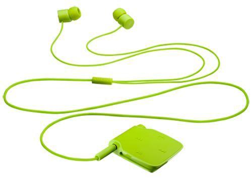 Гарнитура bluetooth  NOKIA BH-111,  стерео, зеленый [bh-111 зеленый]