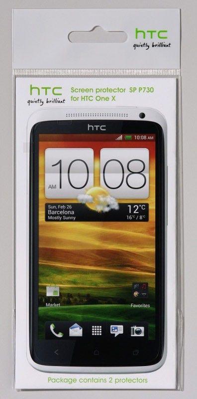 Защитная пленка HTC SP P730  для HTC One X,  2 шт