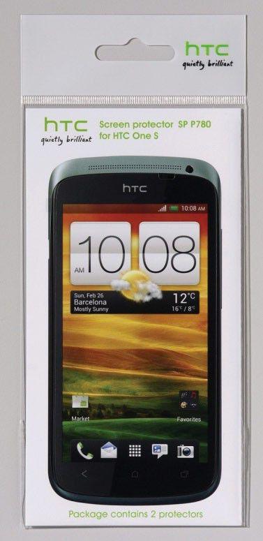 Защитная пленка HTC SP P780  для HTC One S,  2 шт