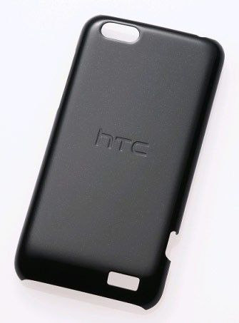 Чехол (клип-кейс) HTC HC C750, для HTC One V, черный