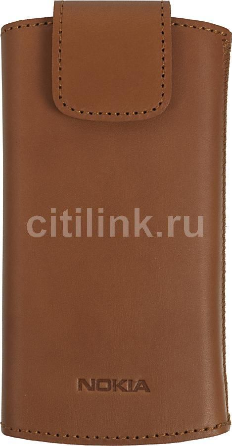 Чехол (футляр) NOKIA CP-556, для Nokia N9/Lumia 800, коричневый [cp-556 коричневый]